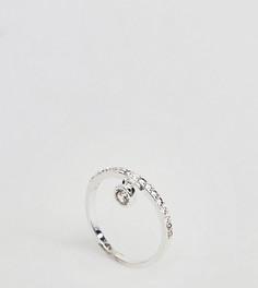 Серебряное кольцо DesignB London CZ - Серебряный