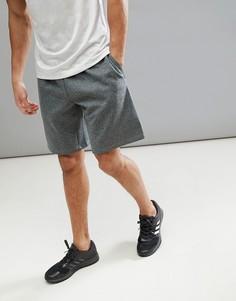 Серые шорты adidas Training Tech CE4729 - Серый