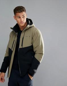 Зеленая с черным лыжная куртка Columbia Millennium Blur - Зеленый