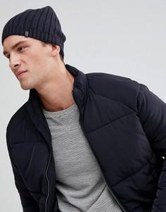 Свободная темно-серая шапка-бини Esprit - Серый