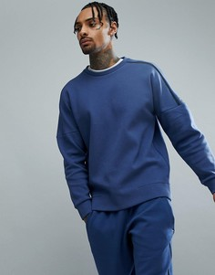 Темно-синий свитшот adidas ZNE 2 CG2186 - Темно-синий