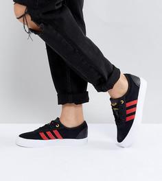 Кеды с логотипом на язычке adidas Skate Boarding Adi-Ease - Черный