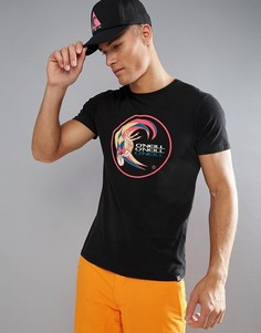 Черняа облегающая футболка с логотипом ONeill Reissue Heritage - Черный O`Neill