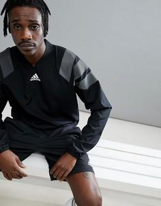 Черный свитшот adidas Football Tanis CG1800 - Черный