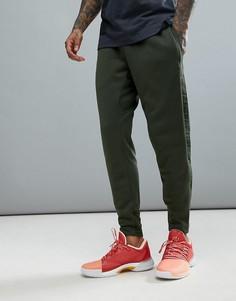 Брюки цвета хаки adidas Basketball Harden CE7310 - Зеленый