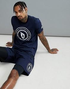 Темно-синяя футболка adidas Basketball Dame CE7339 - Темно-синий