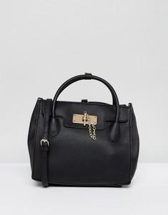 Лаконичный рюкзак с ручкой ALDO - Черный