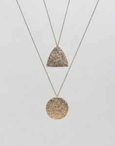 Двойное ожерелье Nylon - Золотой