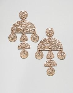 Серьги Nylon - Золотой