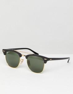 Черные солнцезащитные очки-клабмастеры Ray-Ban 0RB3816 - 51 мм - Черный