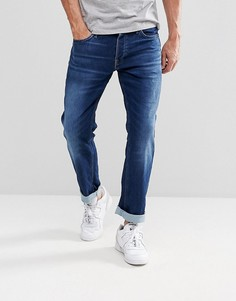 Эластичные джинсы узкого кроя цвета индиго Jack & Jones Intelligence - Синий