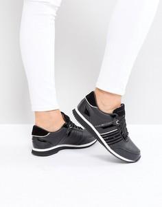 Кроссовки на шнуровке Tommy Jeans - Черный