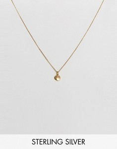 Ожерелье с инициалом M Carrie Elizabeth - Золотой
