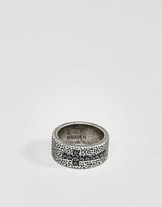 Кольцо с крестиком Steve Madden - Серебряный