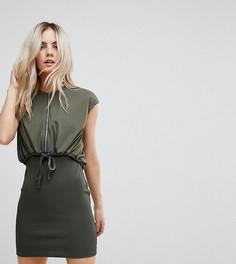 Облегающее платье мини с пиджаком ASOS PETITE - Зеленый