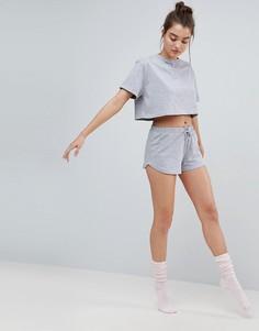Пижамные шорты из комплекта ASOS - Серый