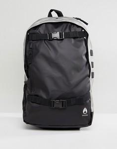 Рюкзак с ремешками для скейтборда Nixon Smith III - Черный