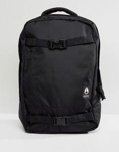 Рюкзак с ремешками для скейта Nixon Del Mar II - Черный