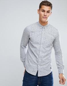 Рубашка в горошек Tom Tailor - Серый