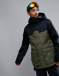 Темно-зеленая водонепроницаемая горнолыжная куртка Oakley Snow Timber BZS 15K - Зеленый