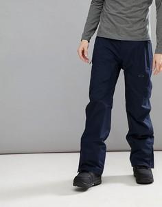 Темно-синие водонепроницаемые лыжные штаны Oakley Snow Vertigo BZS 15K - Темно-синий
