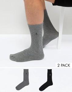 Комплект из 2 пар толстых носков Original Penguin - Мульти