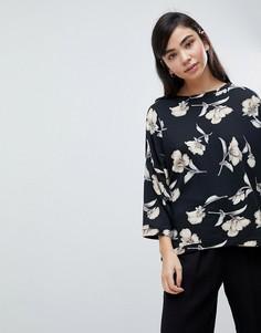 Оверсайз-свитер с цветочным принтом Soaked In Luxury - Мульти