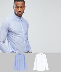 2 премиум-рубашки узкого кроя Jack & Jones - Мульти