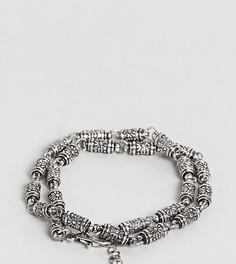 Серебристый браслет Reclaimed Vintage Inspired эксклюзивно для ASOS - Серебряный