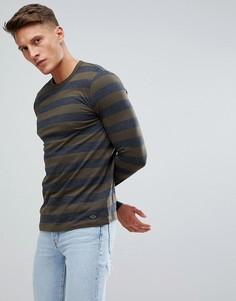 Лонгслив в широкую полоску Esprit - Серый