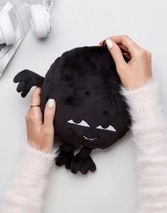 Маленькая оригинальная подушка Monki - Черный