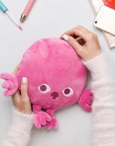 Маленькая оригинальная подушка Monki - Розовый