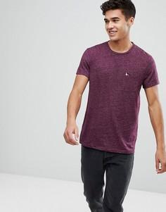 Футболка сливового цвета с 1 карманом Jack Wills Ayleford - Фиолетовый