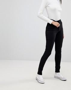 Супероблегающие джинсы с завышенной талией Levis Line 8 - Черный