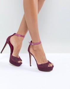 Розовые туфли на платформе в стиле 80-х ALDO Loveasien - Розовый