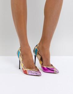 Туфли в стиле 80-х с острым носком ALDO Mirasa - Мульти