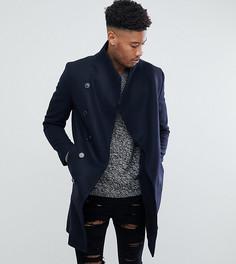Пальто с асимметричными пуговицами Religion TALL - Темно-синий