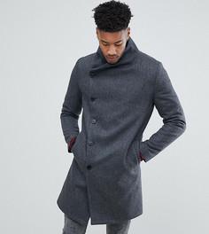 Пальто с асимметричными пуговицами Religion TALL - Серый