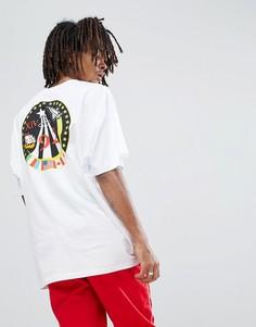 Свободная футболка ASOS Nasa - Белый
