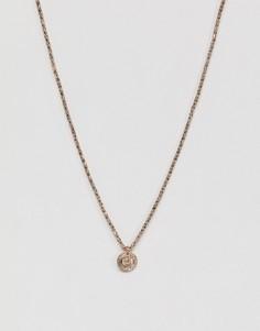 Ожерелье в винтажном стиле DesignB эксклюзивно для ASOS - Золотой