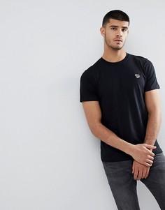 Черная облегающая футболка с логотипом PS Paul Smith - Черный