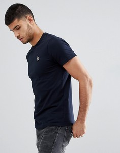 Темно-синяя зауженная футболка PS Paul Smith - Темно-синий