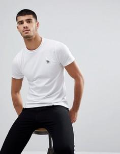 Белая футболка узкого кроя с логотипом-зеброй PS Paul Smith - Белый