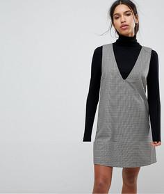 Клетчатое платье Selected Femme - Мульти