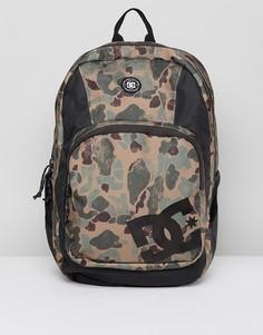 Камуфляжный рюкзак DC Shoes Locker - Светло-бежевый