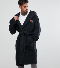 Серый халат с вышитым логотипом Ellesse Lounge - Серый