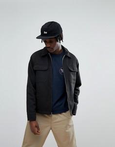 Куртка с клетчатой подкладкой Brixton Centro - Черный