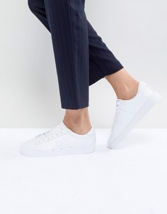 Кожаные кроссовки Fred Perry Spencer - Белый