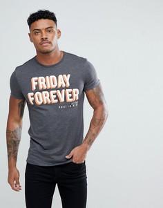 Футболка Friday Forever Blend - Серый