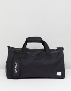 Черная сумка дафл Spiral - Черный